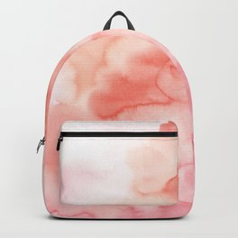 Warm pink waters Backpack