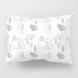 Dwellings of Goliad Pillow Sham