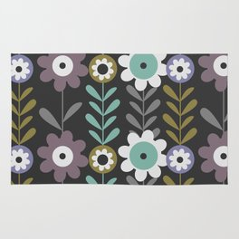 Nocturnal flowers Rug