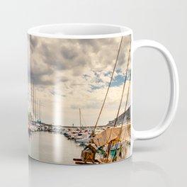 Harbour at Cartagena Coffee Mug