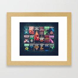 King of Horror 2 Framed Art Print