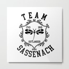 TEAM SASSENAH Metal Print