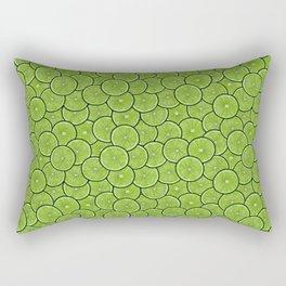 Lime a Palooza! ALL the limes Rectangular Pillow