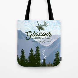 Glacier National Park Valley Tote Bag