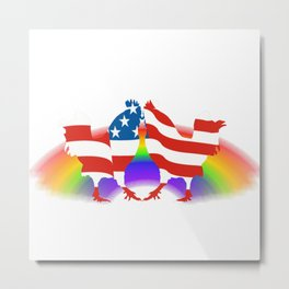 Chic-In-Equality Metal Print