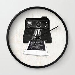 Se souvenir des belles choses Wall Clock