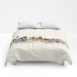 sydney skyline Comforters