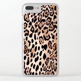 SAFARI LEO Clear iPhone Case