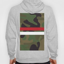 Pattern Army Camouflage Hoody