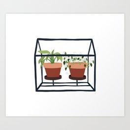 Portable Plants Art Print