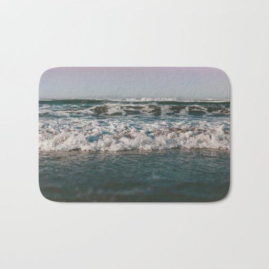 Ocean Crash Bath Mat