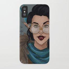 Vex in Percy's Glasses iPhone Case