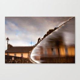 Flowing Water Abstract Canvas Print