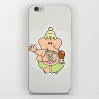 ganesha iPhone & iPod Skins featuring Ganesha by Andrés Diplotti