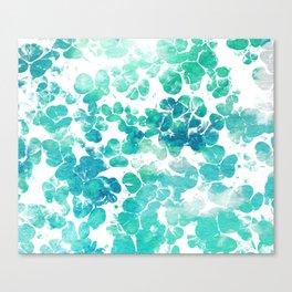 Clover Watercolor #society6 #decor #buyart Canvas Print