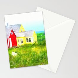 Peggy's Cove village in Nova Scotia, Canada Stationery Cards