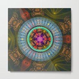 Wheel of Magic Metal Print