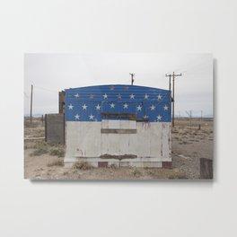 Fireworks - New Mexico Metal Print