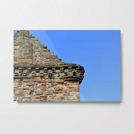 Edinburgh Castle & Sky Metal Print