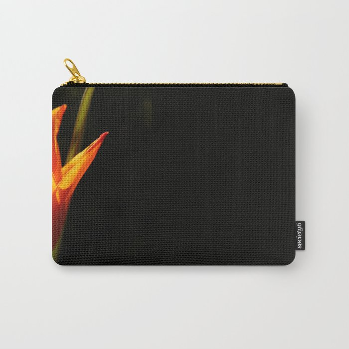 tulip, flower, warm light Carry-All Pouch