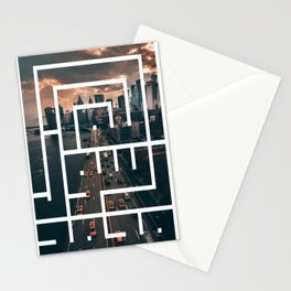 Callidraphy of The City Stationery Cards