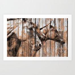 Run With the Horses Art Print