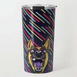 Canine Psychodelia Travel Mug