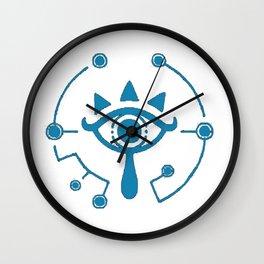 Sheikah Eye Zelda Wall Clock