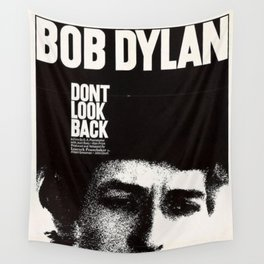 Vintage 1967 Don't Look Back Bob Dylan Movie Poster Wall Tapestry