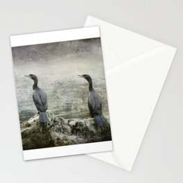 Two Cormorants Stationery Cards