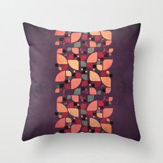 Vintage Butterflies Pattern Throw Pillow