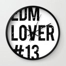 EDM Lover #13  Wall Clock