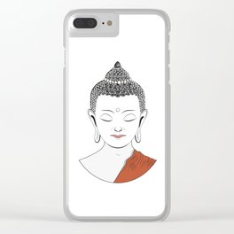 Life of Buddha Clear iPhone Case