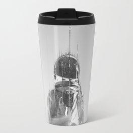 The Space Beyond B&W Astronaut Travel Mug