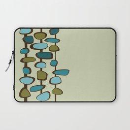 Mid Century Modern Baubles (teal) Laptop Sleeve