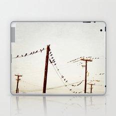 city birds Laptop & iPad Skin