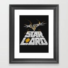 Star-Lord Framed Art Print