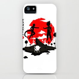 goku fight iPhone Case