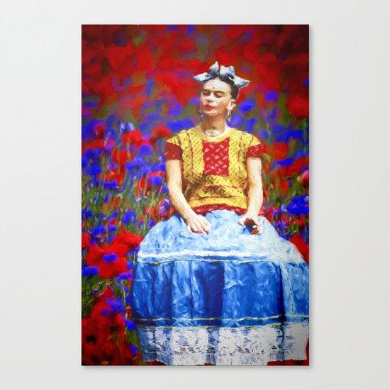 FRIDA dreaming away Canvas Print