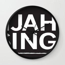 Elijah Rising Wall Clock