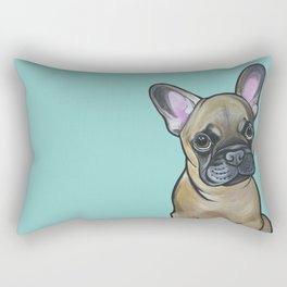 Armand the Frenchie Pup Rectangular Pillow