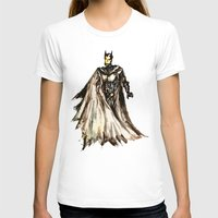 steam punk T-shirts featuring Batbot- Steam Punk  by Chien-Yu Peng