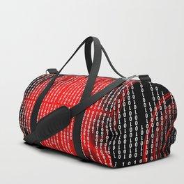 Binary Code Duffle Bag