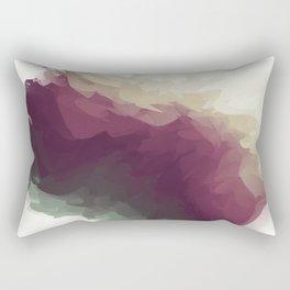 Grapes and the Vineyard Rectangular Pillow