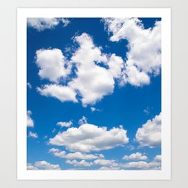 Up in the Sky Art Print