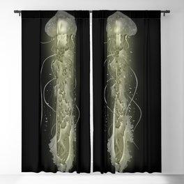 Glowing Jellyfish Blackout Curtain