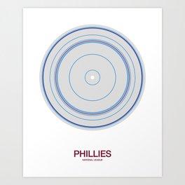 Philadelphia rings Art Print