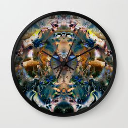 Sacred Molecule Wall Clock