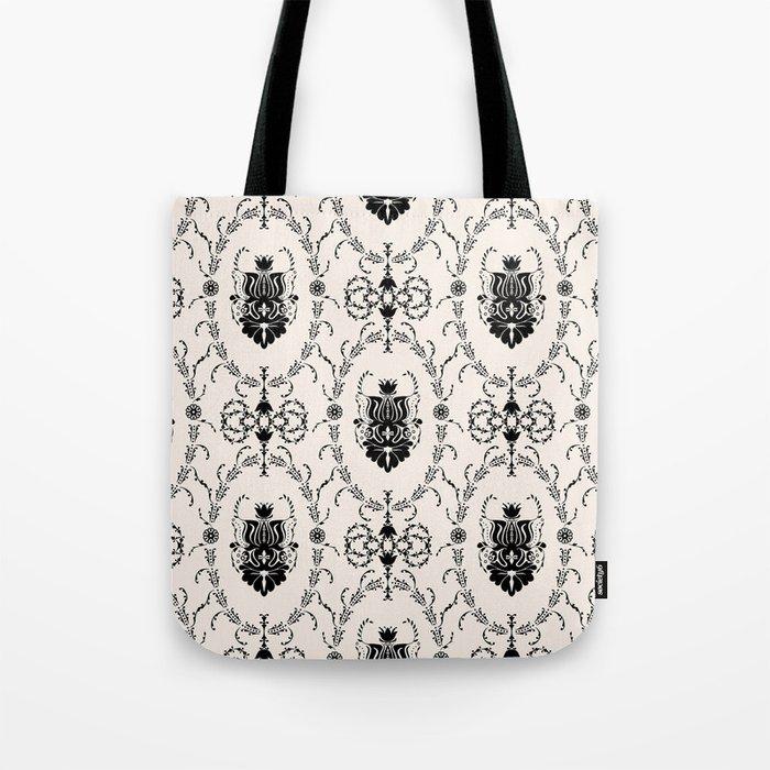 Seamless wallpaper background floral vintage Tote Bag