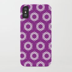 Abstract Stars Pattern Slim Case iPhone X